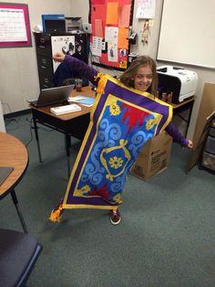 flying carpet costume, Aladdin