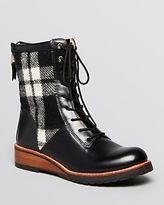Matt Bernson Combat Boots - Windsor Plaid