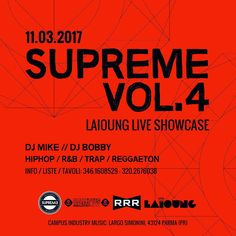 #supreme #supremestaff #supremevol4 #party #hiphop #hiphopmusic #hiphopculture #hiphopdance #supremegirls #solocosebelle #dimitrimazzoni sabato 11 marzo 2017 #laioungliveshowcase