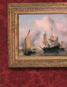 Wallpapers: Collection Museum, wallpaper Gallery Red #Andrew Martin. Papeles pintados. Colección Museum. Papel pintado Gallery Red