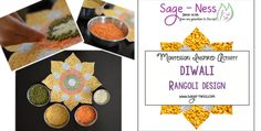 Diwali Kids Activities – Rangoli Design Rangoli Designs Diwali, Diwali Rangoli, Skits For Kids, Activities For Kids, Chromatography For Kids, Tesselations, Kids Frocks, Inspiration, Indian