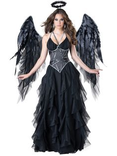 Ladies Dark Angel Costume