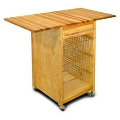 Catskill Craftsmen Contemporary 21 in. Kitchen Work Center-7226 at The Home Depot