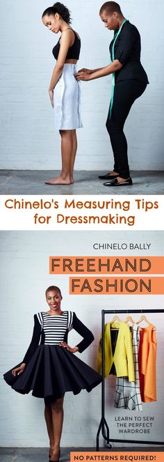Sewing Clothes Exclusive Measuring Tips for Dressmaking from Chinelo Bally More - Sewing Hacks, Sewing Tutorials, Sewing Tips, Trend Fashion, Diy Fashion, Fashion Cover, Diy Clothing, Sewing Clothes, Barbie Clothes