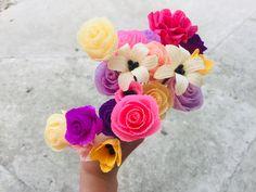 Crepe Paper Flowers, Rose, Plants, Pink, Roses, Planters, Plant, Planting, Planets