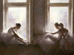 Stephen Pan (Chinese, born 1963) Oil, Ballerinas, Signed, 75 x 100