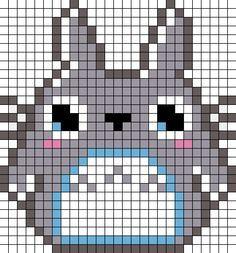 kawaii pixel art with grid - Google Search