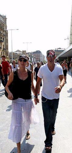 Bruce & Patti in San Sebastian, Spain