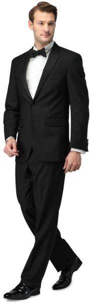 Kenneth Cole 2 Button Tuxedo in Black