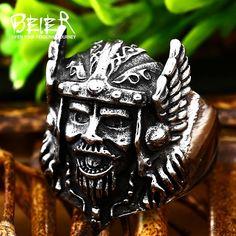 Personlity Retro Warcraft Zeus Odin-Nors Mythology Ring Men Titanium Jewellery Animal Jewelry free s Men's Jewelry Rings, Sea Glass Jewelry, Cute Jewelry, Jewellery, Fashion Bracelets, Fashion Jewelry, Titanium Jewelry, Diy For Men, Animal Jewelry