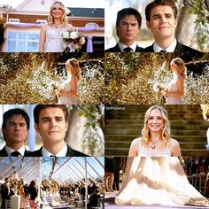 "[8x15 ""We're Planning A June Wedding""] The wedding was beautiful and cute and reminded me why I love Steroline ❤"