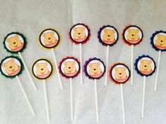 A personal favorite from my Etsy shop https://www.etsy.com/listing/244873333/just-12-winnie-the-pooh-cupcake-toppers