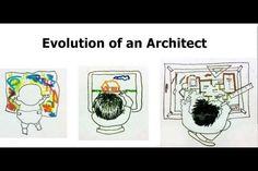 evolution of an architect/ la evolución de un arquitecto