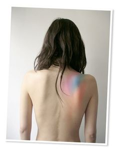 pastel watercolor tattoo. This I would actually get.