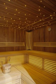 38 Easy And Cheap Diy Sauna Design You Can Try At Home. he prospect of building a sauna in the home may initially sound daunting, but in fact it is a relatively simple project and one that requires on. Saunas, Diy Sauna, Sauna Ideas, Sauna House, Sauna Room, Sauna Lights, Building A Sauna, Piscina Spa, Indoor Sauna