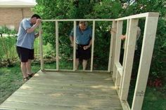 Detailed plan on how to build a playhouse. #gardenplayhouse