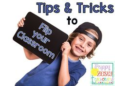 Flip your Classroom. Blog posts shows how to flip your classroom using TWO buttons. Examples of how she flips in her classroom by spiral reviewing before the dreaded state testing!