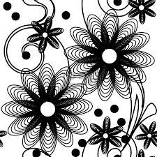 129 best black and white flowers background images on pinterest image detail for seamlessly wallpaper with art white flower stock photo 6673866 mightylinksfo