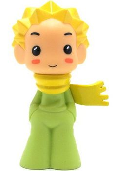 The Little Prince toy, based on the main character of French author Antoine de Saint-Exupéry's 1943 novella Le Petit Prince, 2012, made by Muttpop.