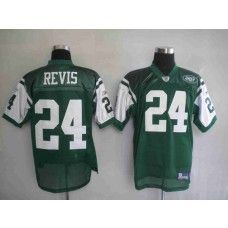 035072b06 Jets  24 Darrelle Revis Stitched Green NFL Jersey White Jersey