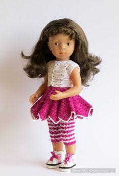 Приглашаем в путешествие. Игровые куклы Käthe Kruse. Minouche. Игрушки своими руками / Другие интересные игровые куклы для девочек / Бэйбики. Куклы фото. Одежда для кукол