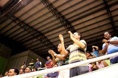 La hinchada en Santa Marta siempre está la fiebre del #FútbolRevolucionado
