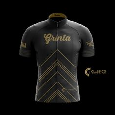 Classico Black + Gold : Grinta Jersey - Men – Grinta LLC