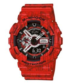 Casio ga-110sl-4aer G-Shock horloge op Horlogeloods!