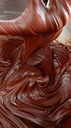 Chocolate Fudge Silk Buttercream ~ Creamy, silky and incredibly light, this exceptional buttercream melts on the tongue and is not too sweet... The perfect dark Chocolate Buttercream Frosting for cakes and cupcakes.