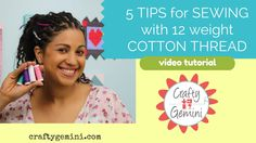 5 Tips for Sewing wi