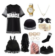 Untitled #32 by jessicamallot on Polyvore featuring polyvore, beauty, Banana Republic, OMEGA, Wet Seal, Chicnova Fashion and Converse