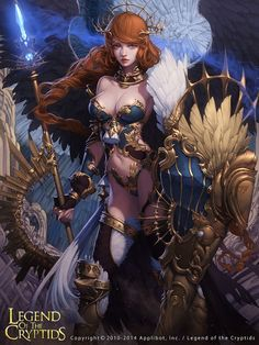 Angel Legend of the cryptids