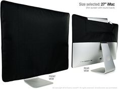 """awesome iMac Dust Cover 27"""" Slim [SALE!] Foamy Lizard ® TexoShield Stealth premium PADDED front, soft lined dust guard cover for iMac with rear pocket [USPTO Patent Pending] (27 Inch Tapered, Noir - Black) Check more at http://appmyxer.com/amazon-products/computers-accessories/imac-dust-cover-27-slim-sale-foamy-lizard-texoshield-stealth-premium-padded-front-soft-lined-dust-guard-cover-for-imac-with-rear-pocket-uspto-patent-pending-27-inch-tapered-noir-bla/"""