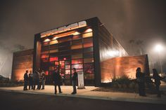 Exterior of STACKED Restaurant