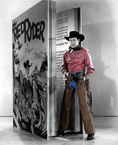 """Bill Elliott as """"Red Ryder"""""""