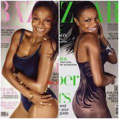 I swear Janet looks like Kandi  Burris in this photo.