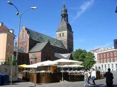 Riga Cathedral, Riga, Latvia #travel #photos #latvia