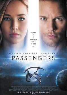 Jennifer Lawrence& Chris Pratt on the set of Passengers.