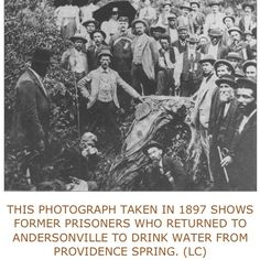 CSA PRISON/ Andersonville - the divine Providence Spring