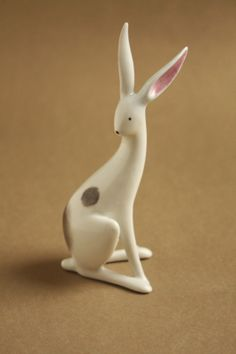 Ülő nyuszi - Drasche porcelán Collectible Figurines, Retro Art, Art Deco, Miniatures, Sculpture, Ceramics, Modernism, Cool Stuff, Hungary