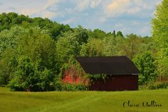 Another beautiful old barn picture taken by Clara Mullins