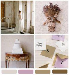 lavender + stone