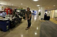 Scooter in the #office