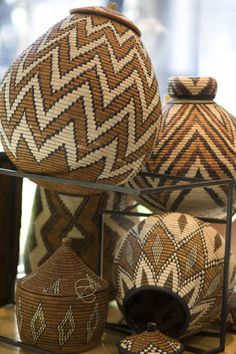 African basketry
