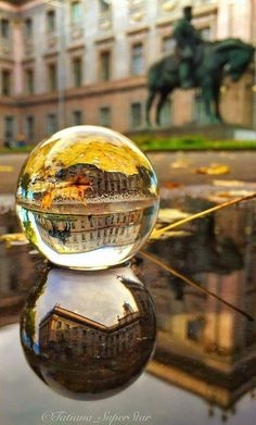 How to Use a Crystal Ball for Photography Glass Photography, Reflection Photography, Time Photography, Macro Photography, Creative Photography, Amazing Photography, Landscape Photography, Bubble Photography, Photography Portraits