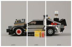LEGO Delorean by Adam Yes