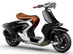 車両デザイン:ヤマハ発動機の気品ある女性をイメージしたスクーター、白鳥のように羽を開く - MONOist