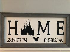 Premium quality reverse canvas signs for your home! by HomegrownDesignsNJ Disney Theme, Disney Diy, Disney Crafts, Disney Ideas, Disney Stuff, Disney Wall Decor, Disney Home Decor, Disney Decorations, Disney Rooms