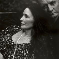 June Carter Cash and Johnny Cash in Hiltons, Virginia, 2001. Photograph by Annie Leibovitz.
