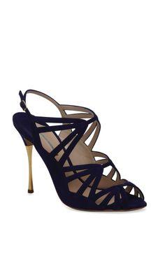 Gilded Stiletto Sandal by Nicholas Kirkwood